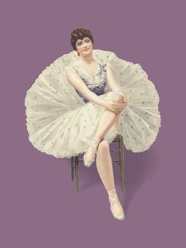 """Ilustración vintage """"La belleza del ballet"""" publicada en 1899 por Julius Mendes. Mejorado digitalmente por rawpixel."""