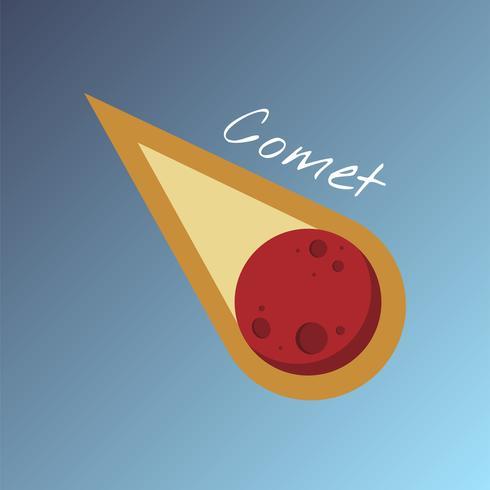 Vetor de cometa