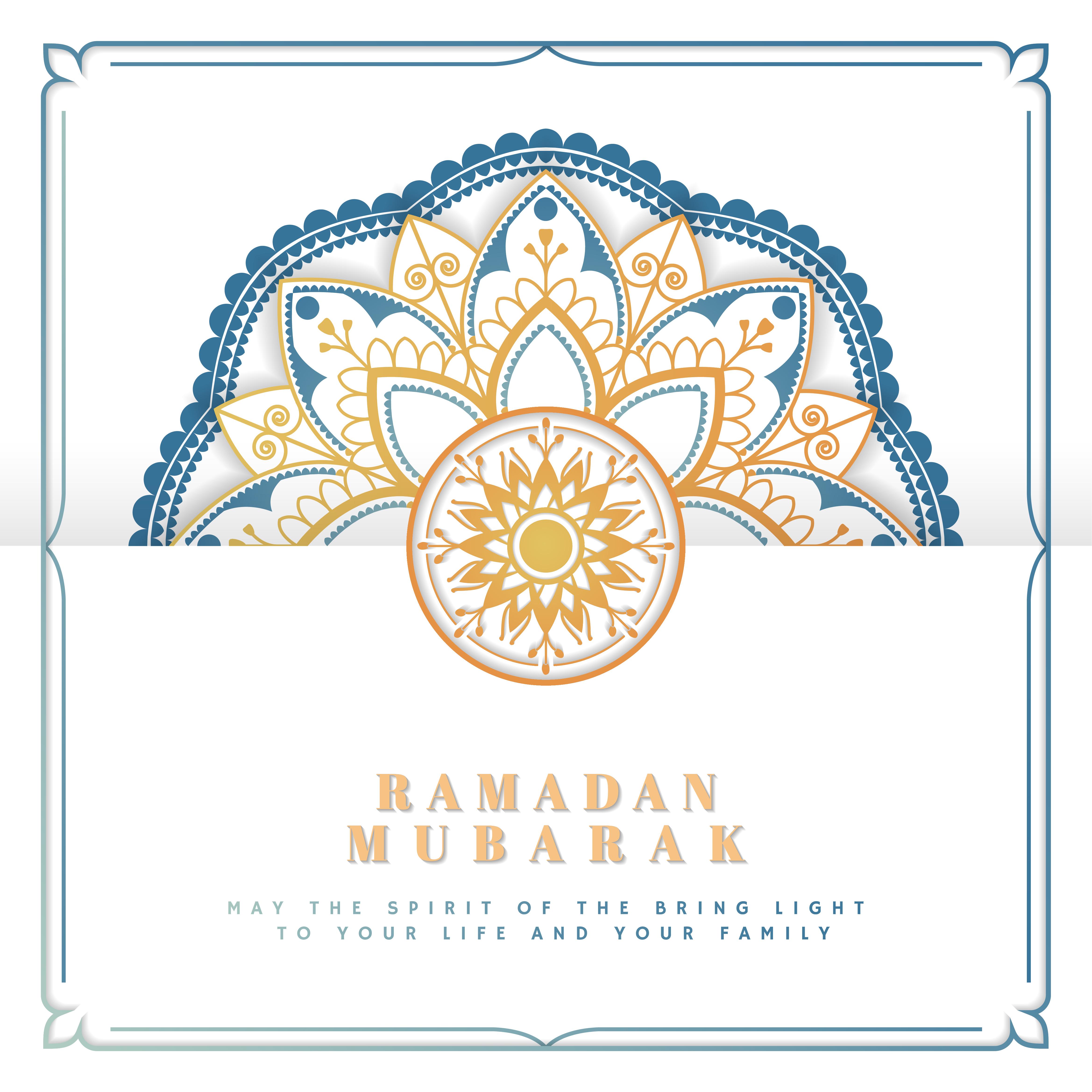 white eid mubarak card  download free vectors clipart
