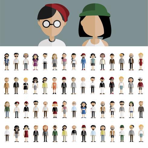 Illustration de diverses personnes