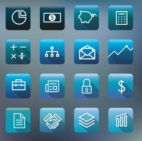 Ensemble d'icônes et de symboles