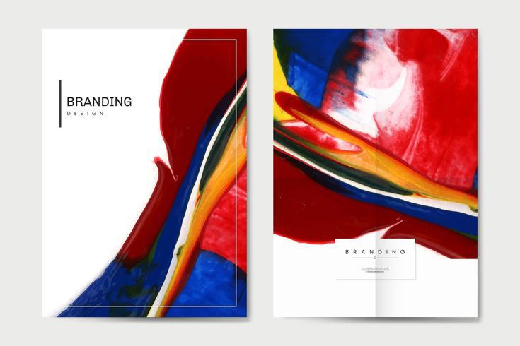 Färgglada affischset