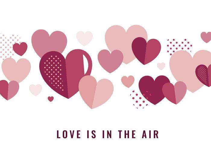 Valentine's day heart graphic