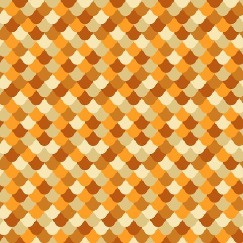 Fisk hud sömlösa mönster vektor