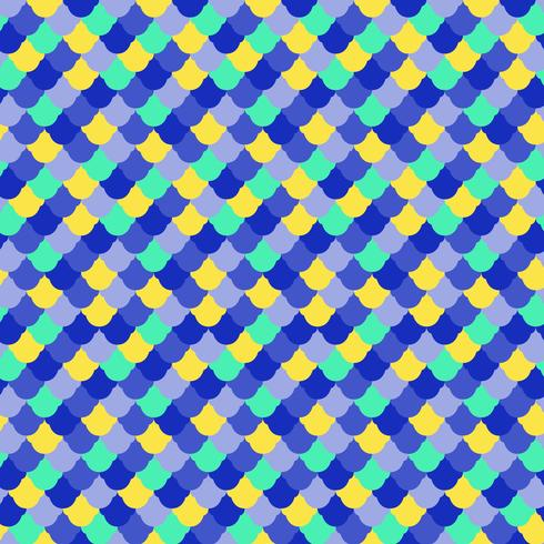 Fish skin seamless pattern vector