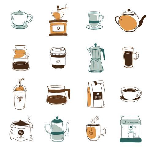 Kaffe ikoner