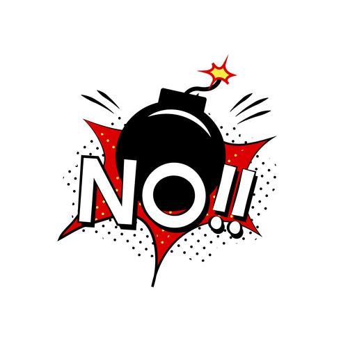 No! explosion vector
