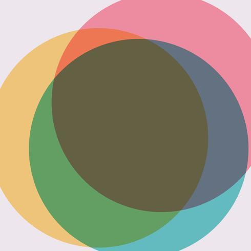 Veelkleurige Zwitserse grafische illustratie