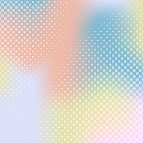 Mehrfarbensteigungshalbtonhintergrundvektor