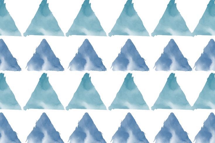 Vetor de fundo aquarela verde azul pastel