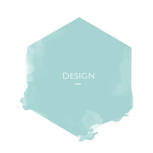 Illustrazione di progettazione del modello del distintivo di esagono di annuncio