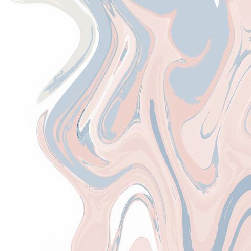 Acrylic paint pour background vector
