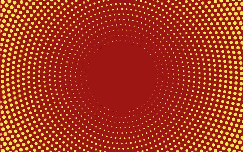 Rode kleurovergang halftoon achtergrond vector