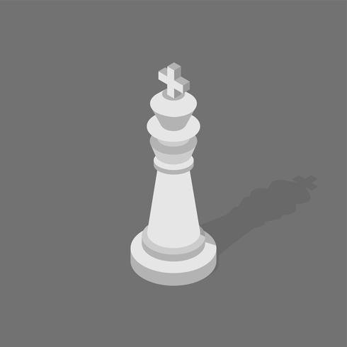 Icono de vector de ajedrez