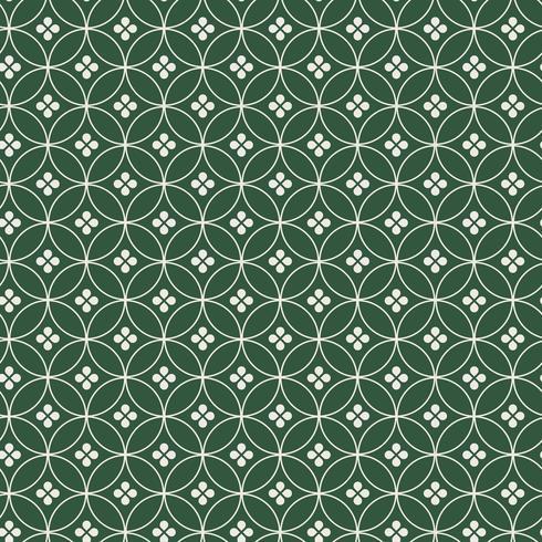Sin fisuras patrón japonés con siete joyas (Shippou) vector motivo