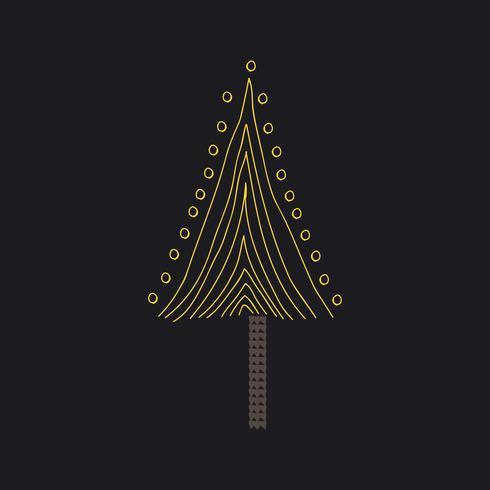 Triangulär formad trädvektor