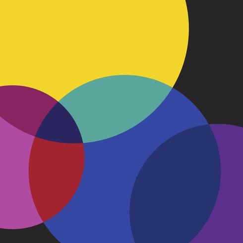Flerfärgad schweizisk grafisk illustration uppsättning