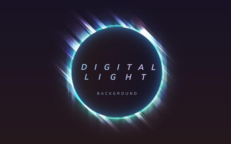 Fond clair numérique