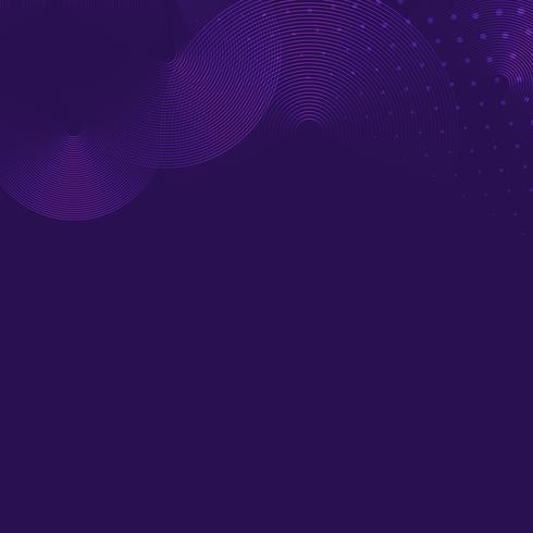 Blank purple patterned background vector