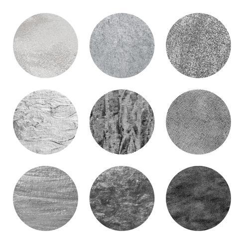 Colección de patrones grises