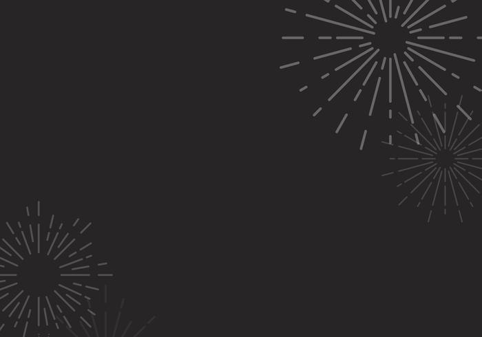 Sunburst bakgrundsdesign i svart vektor