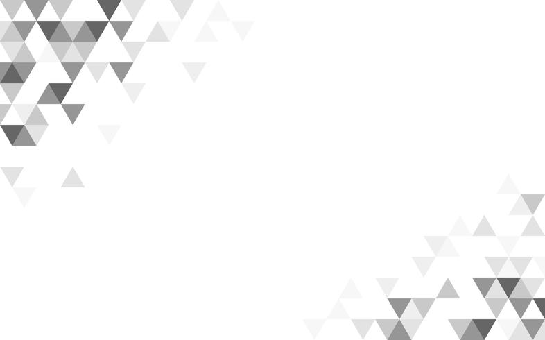Ilustración de patrón de triángulo geométrico
