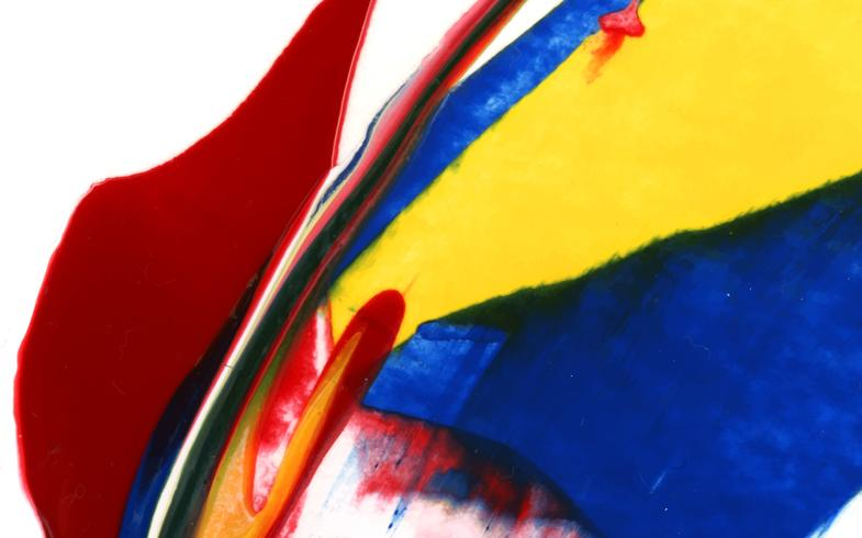 Fond peint vibrant