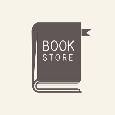 Vector logo librería y papeles