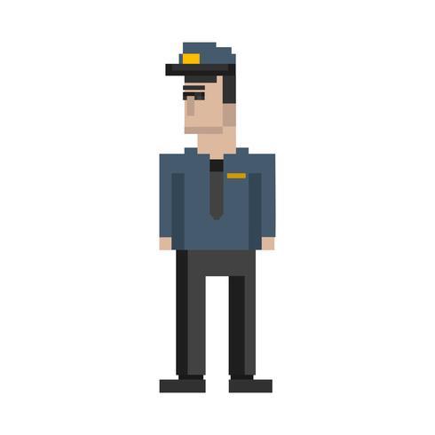 Illustrazione di pixel di occupazione