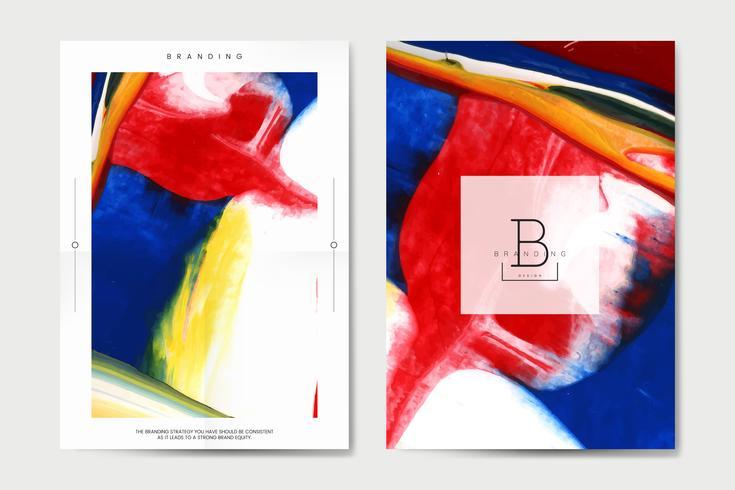 Set di poster colorato