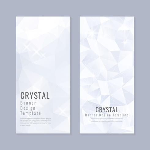 Kristall strukturierte Hintergrundsammlung