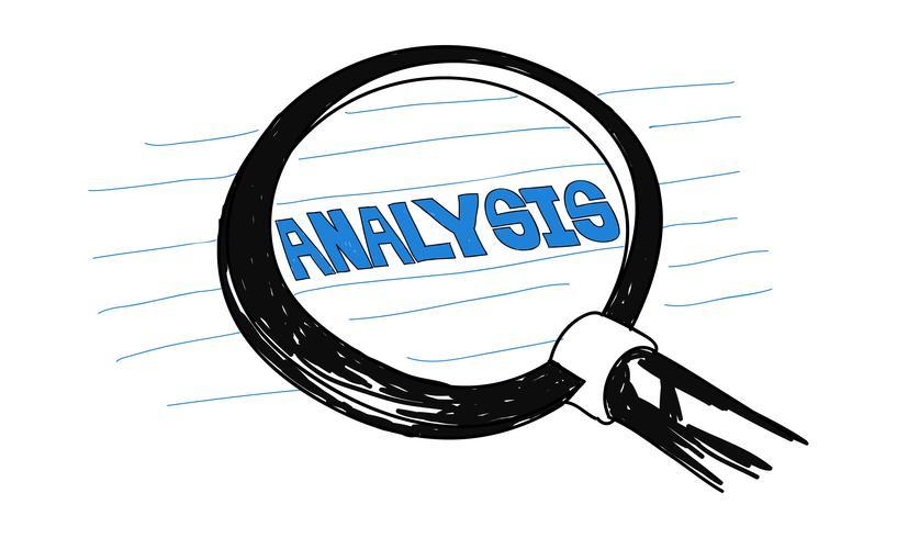 Illustration av dataanalys