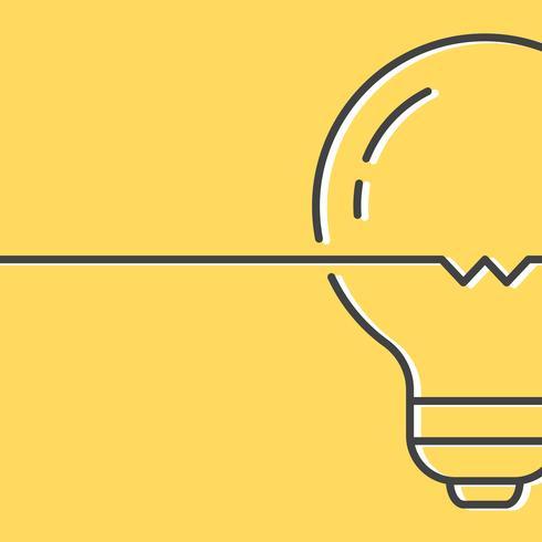 Ljusa idéer och kreativitet