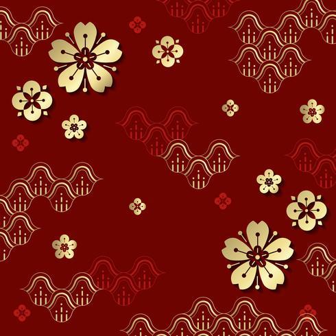 Chinees Nieuwjaar illustratie