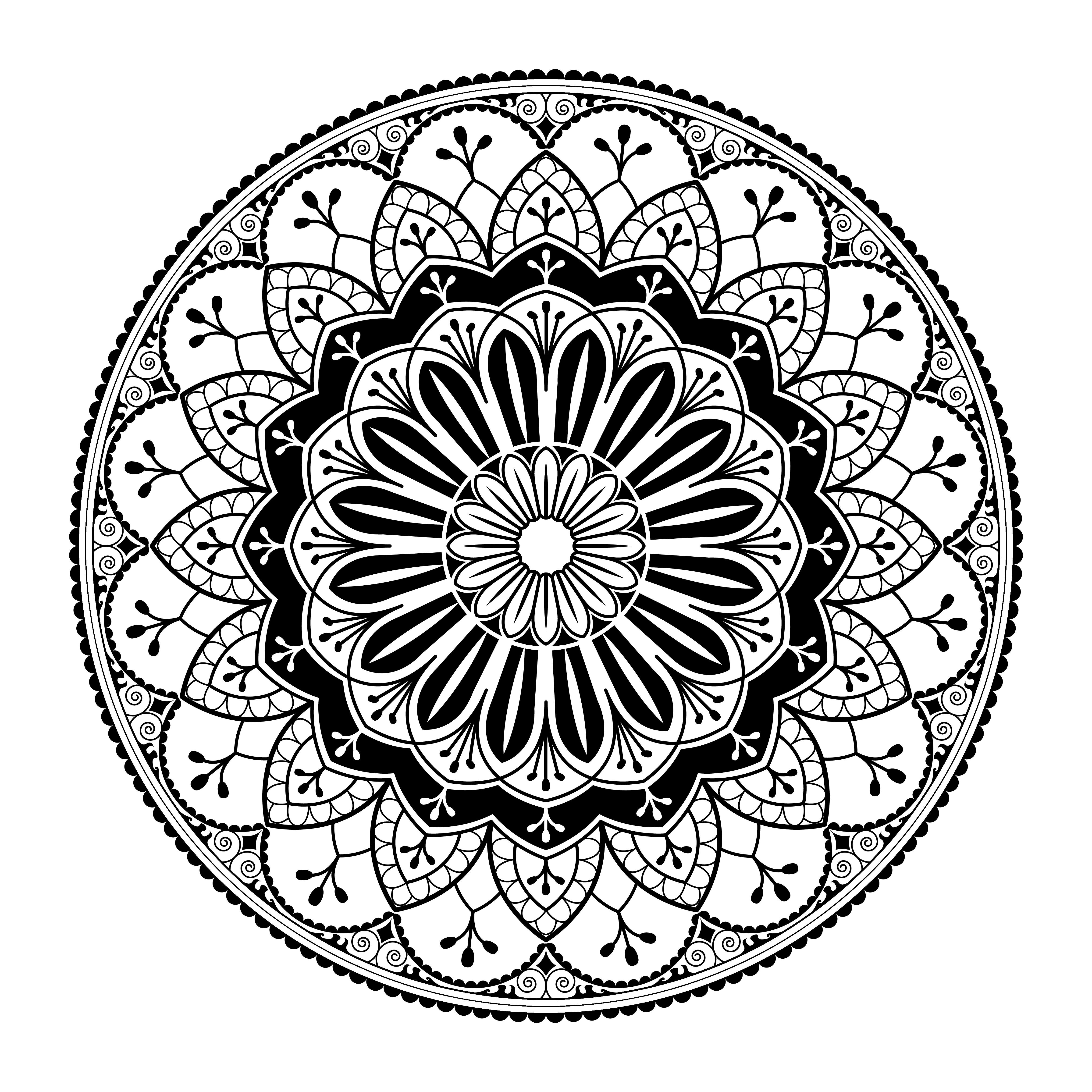 Spiritual mandala pattern - Download Free Vectors, Clipart ...