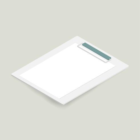 Vektor av mockup anteckningsblock icon