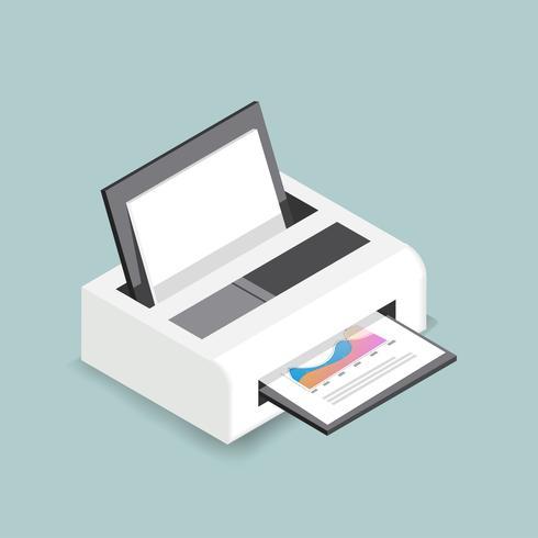 Vector pictogram van printer