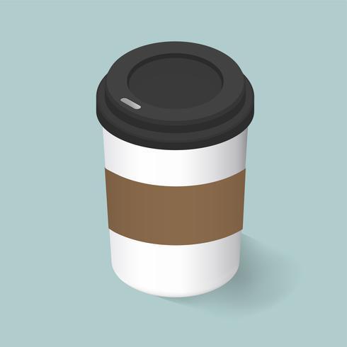 Vektorbild der Kaffeetasse