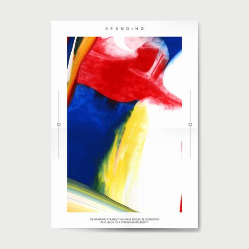 Plakat für Kunstereignis