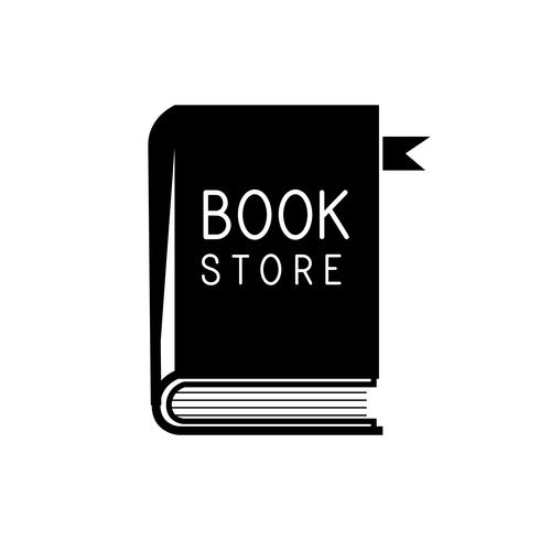 Bookstore and papers logo vector