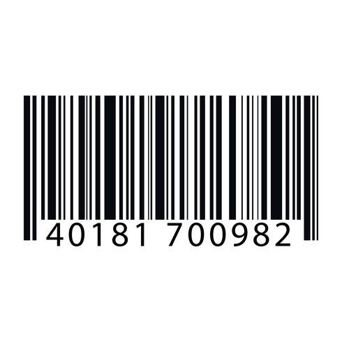 Ilustración de código de barras