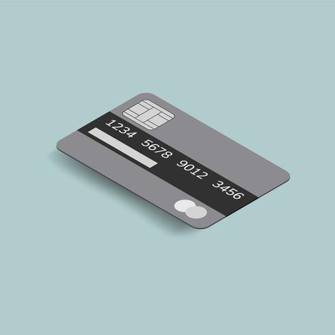 Vector de la imagen del icono de la tarjeta de crédito