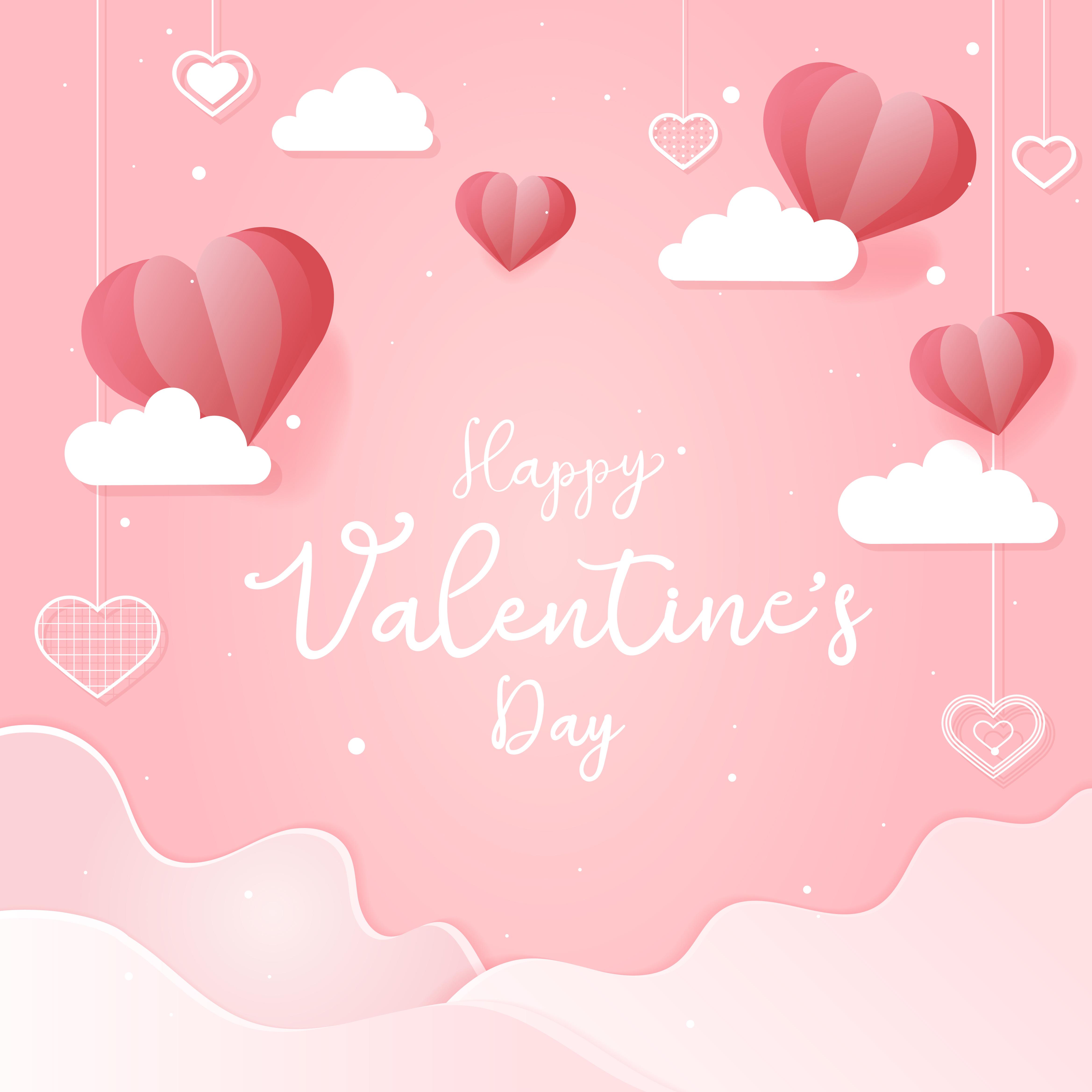 valentine's day card illustration  download free vectors