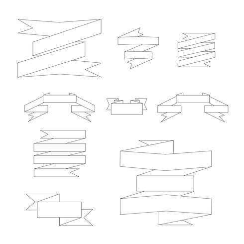 Band-Label-Vektor-Illustration