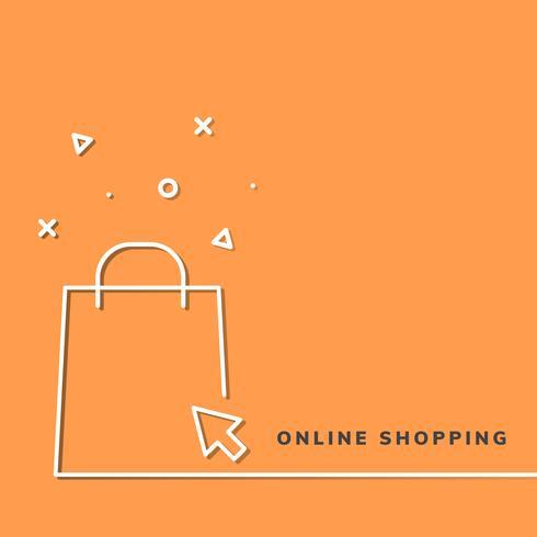 Shopping online-ikon