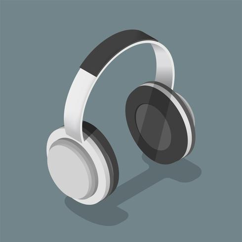 Vektor-Symbol von Kopfhörern