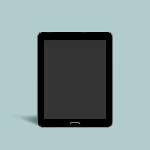 Vector de icono de tableta digital
