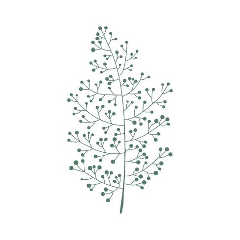 Vector ilustracion arbol