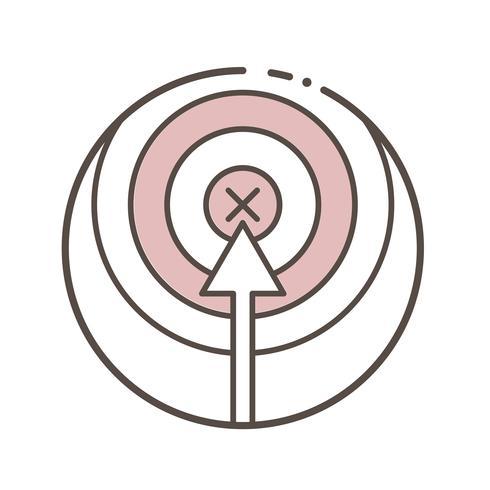 Illustratie van vectorlijninzameling