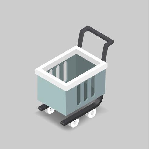 Vektorbild des Einkaufswagens